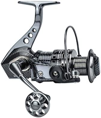 ZREELS 釣りスピニングリール、 ダブルベアリング パワフル コンパクト メタル フィッシュホイール、 左右のインターチェンジ (色 : 7500)