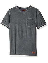 7 para toda la humanidad, camiseta de cuello en V para hombre (niños grandes)