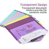 Plastic Envelopes Poly Envelopes, Sooez 10 Pack