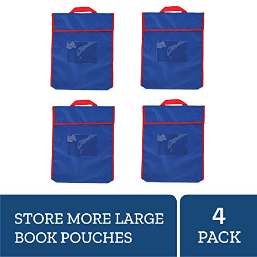 - Really Good Stuff Store More Large Book Pouches, 12