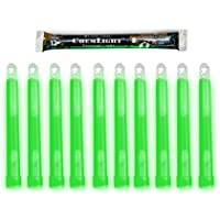 Cyalume ChemLight Military Grade Chemical Light Sticks, Green, 6 Long, 12 Hour Duration by Cyalume