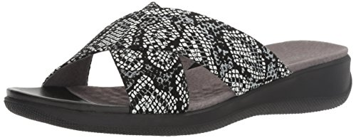 Snake Softwalk Tillman Women's Mule Black qxaZOzw