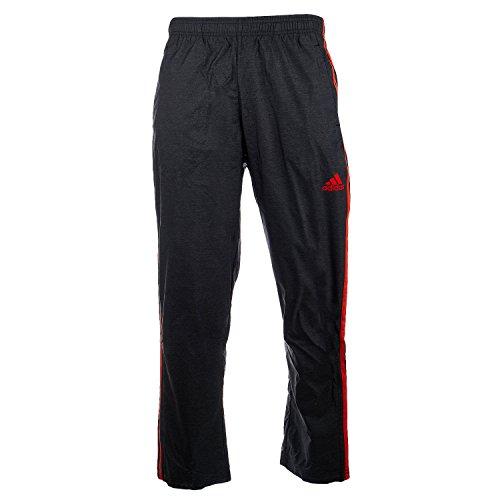 adidas Men's Athletics Essential Woven Pants, Black/Energy, Small