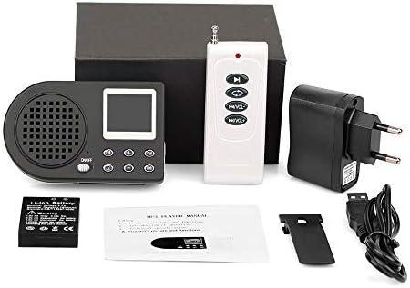 Llamadas y señuelos de Caza de pájaros, Reproductor de MP3, señuelo, Sonido, Amplificador de Dispositivo Cantante de Animales, Amplificador inalámbrico/sin Mando a Distancia