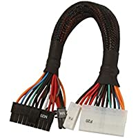 AYA 10 ATX 24-Pin (20+4Pin Detachable) 4-in-1 PSU Extension/Conversion Cable