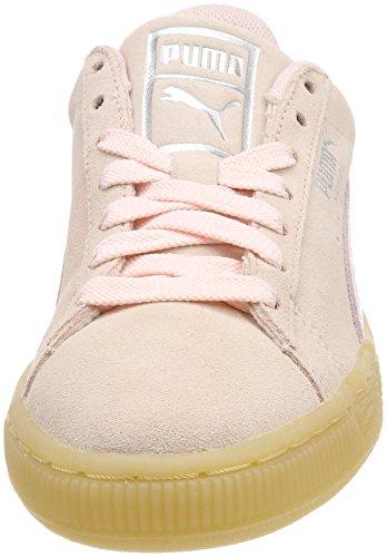 para Mujer Wn's Puma Zapatillas Rosa Classic Bubble Suede Pearl gqnTWX