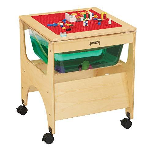 Jonti-Craft 2870JC See-Thru Mini Sensory Table, Sandle