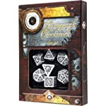 Q WORKSHOP Qworkshop QworkshopSSTC02 Steampunk Clockwork Dice Set (7-Piece) 4