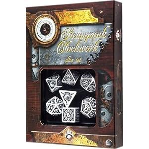 Q WORKSHOP Qworkshop QworkshopSSTC02 Steampunk Clockwork Dice Set (7-Piece)