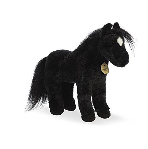Aurora World Miyoni Plush Black Horse Plush Toy, - Black Horse Farm