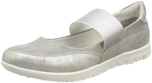 Comb Gris Grey Mary Femme s Jane Oliver 24617 gORnFq0