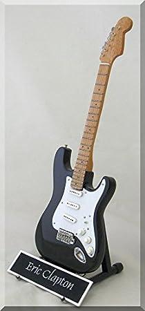 Eric Clap – Guitarra en miniatura Blackie personalizable con ...