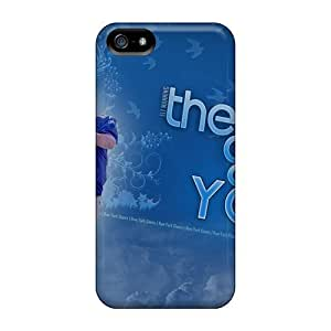 Iphone 5/5s WiN1783IYLN New York Giants Tpu Silicone Gel Case Cover. Fits Iphone 5/5s