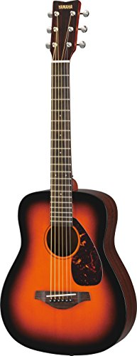 Yamaha JR2S 3/4 Size Solid Top Guitar with Gig Bag, Sunburst
