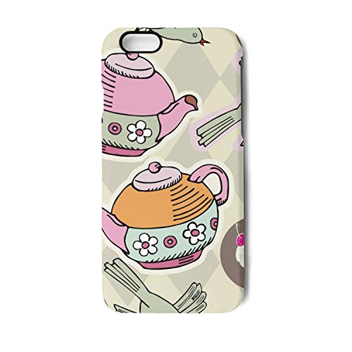 YUEch iPhone 6 Case iPhone 6S Case English Royal Tea Party TPU Shock-Absorption & Skid-Proof Anti-Scratch Phone Case for Apple iPhone 6 / iPhone -