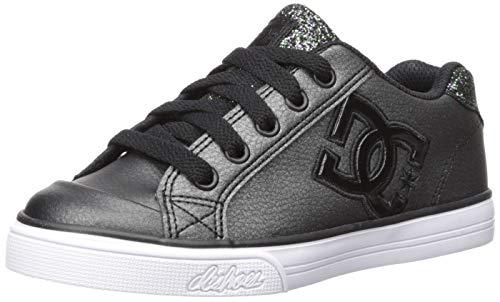 - DC Girls Youth Chelsea SE Skate Shoes, Black Multi, 5 M US Big Kid