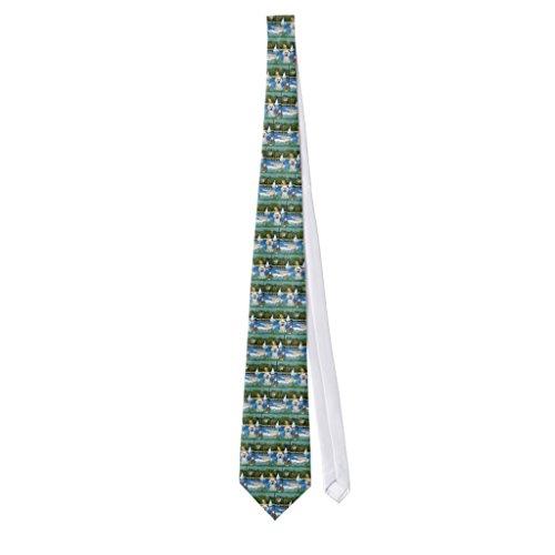 Zazzle Poodle (7w) - Sailboats Neck Tie (Poodle Tie)