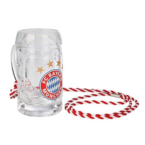 Schnapsseidel Logo FC Bayern MÜNCHEN Munich - Glas, Schnapsglas, mug, jug, jarra, cruche,