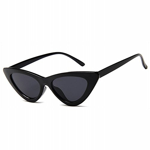Femenina Negro de tamaño Gafas Gafas de Sol la del del SLR Marea Oeste Sol Retro de Un de Gafas Gato Calle Viento 0xYOwqa1H