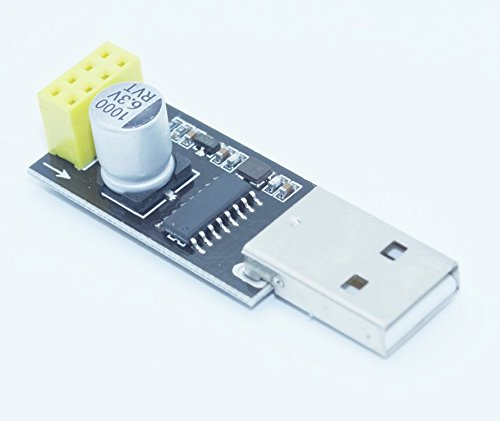 Kaifani 5PCS//LOT USB to ESP8266 WiFi Module Adapter Board Computer Phone WiFi Wireless Communication microcontroller Development