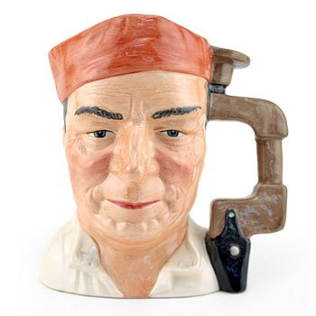 - Royal Doulton Character Jug, Cabinet Maker D7010 7.5in
