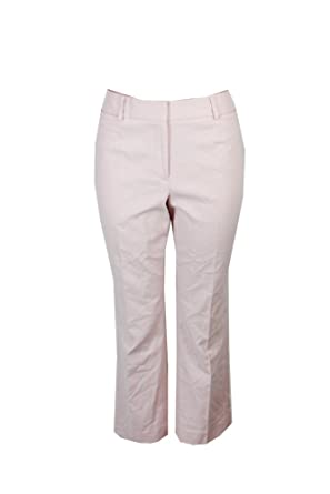 eb8375de78ad1b Tommy Hilfiger Women s Cropped Straight-Leg Bristol Slim Ankle Pants at Amazon  Women s Clothing store