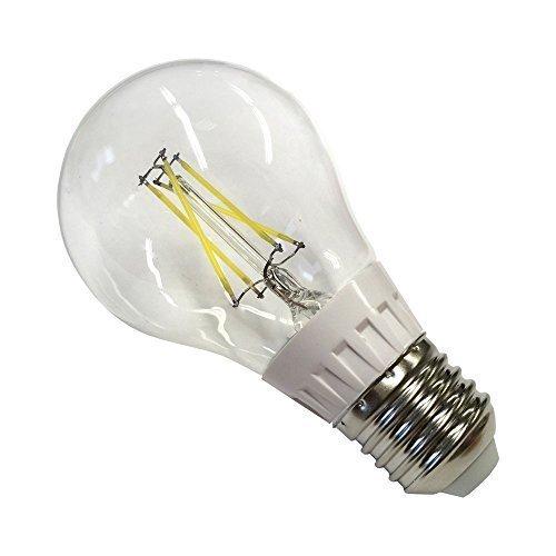 E27 de plástico LED 4 W 400 lumens GLS Bombilla - luz blanca fría: Amazon.es: Iluminación