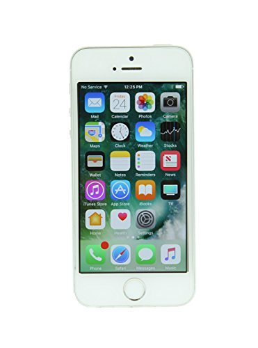 Apple iPhone SE, GSM Unlocked, 16 GB - Silver (Renewed)