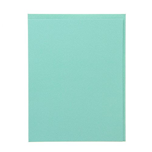 American Crafts Ms. Sparkle & Co. Paperie 4.5'' x 5.5'' Cards & Envelopes - Invitation Card Making, Papercrafts Embellishment - Turquoise by American Crafts
