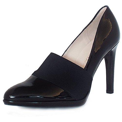 Peter Kaiser Horta De Tacón Zapatos De Corte En Negro Patente BLK CRACKL