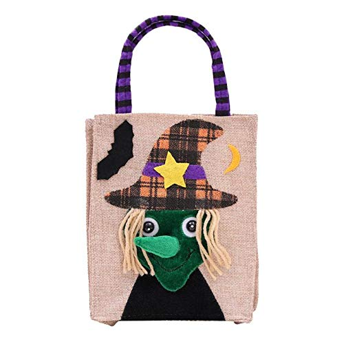 Bags & Wrapping Supplies - Colorful Halloween Candy Bag Gift Bags Pumpkin Trick Or Treat Sacks Hallowmas Party Decor - Cinch Snack String Puppet Sack Dog Flying Backpack Pouch 200 Bag Party Pu ()