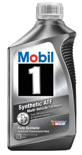 Price comparison product image Mobil 1 112980 Synthetic Automatic Transmission Fluid - 1 Quart