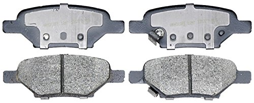 ACDelco 14D1033CH Advantage Ceramic Rear Disc Brake Pad Set