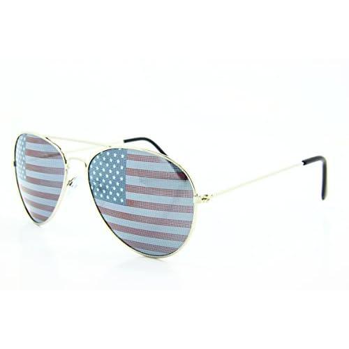 1ff7606a4c13 low-cost 5Zero1 Retro Classic American Patriot Flag USA Independent  Celebration Wayfarer Aviaotr Sunglasses