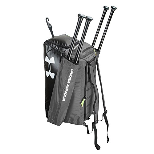 Amazon.com: Under Armour Baseball/Softball Cleanup 2 Duffel/Backpack Black UASB-CON-BK: Sports & Outdoors