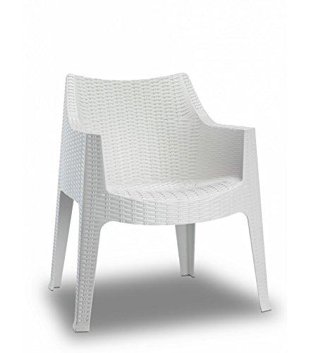 Scab Design - Juego de 4 sillones Maxima de tecnopolimero ...