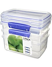 Sistema 1 Litre  Food Storage Container, Clear