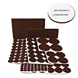 Best Chair Pads for Hardwood Floors X-PROTECTOR Premium CLASSIC Pack Furniture Pads 101 piece! Felt Pads Furniture Feet  Your Best Wood Floor Protectors. Protect Your Hardwood & Laminate Flooring with 100% Satisfaction!