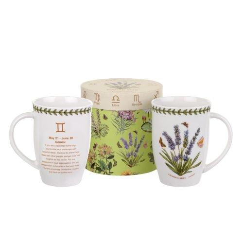 Zodiac 12.6 oz. Gemini / Lavender Mug