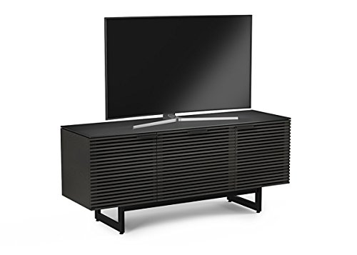 BDI 8177 CRL Corridor Triple Wide TV Stand & Media Cabinet, Charcoal Stained ()