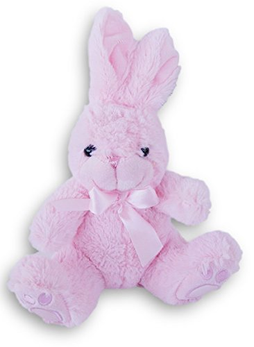 Bunnies Pink Fluffy (Super Soft Fluffy Bunny Plush Stuffed Animal - 11 Inches (Pink))