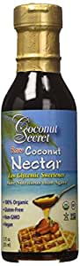 Coconut Secret Coconut Nectar, Raw, 12-Ounce (Pack of 3)