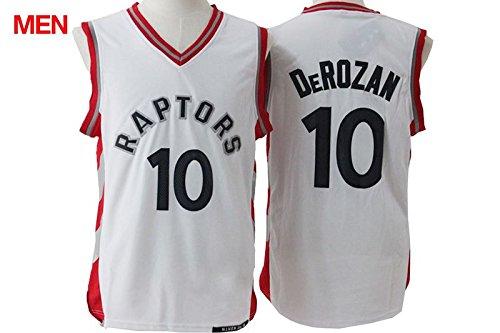 Mens Brand New Jersey, Toronto Raptors #10 Demar DeRozan White XL