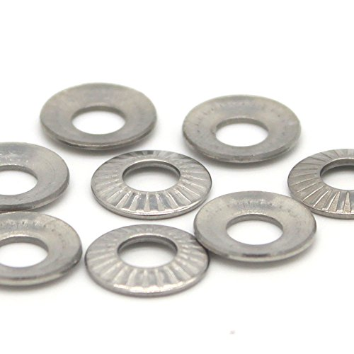 M3 Belleville Washer,Stainless Steel,Pack of 100,Disc Washer