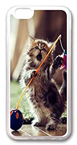 iphone 6 4.7inch Case iphone 6 4.7inch Cases Cat ID14 TPU Rubber Soft Case Back Cover for iPhone 6 Transparent
