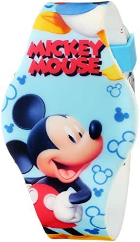 Disney Kids' MCH3400 Mickey Mouse Allover Print Digital Watch