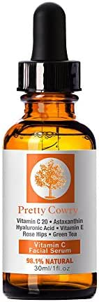 SUSSMAI Vitamin C Serum for Face Topical Facial Serum with Hyaluronic Acid Vitamin - Vitamin C Essence 30ml 1 fl. oz. Deep Maintenance