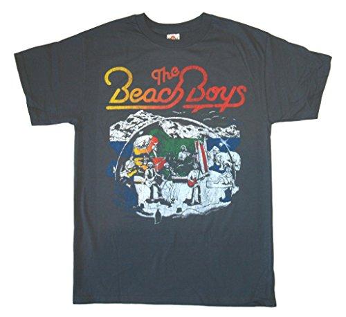 Bravado  Men's The Beach Boys Band Live T-Shirt X-Large Blac