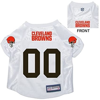 6fce89e87 Image Unavailable. Image not available for. Color  Cleveland Browns Pet Dog  Football Jersey XL