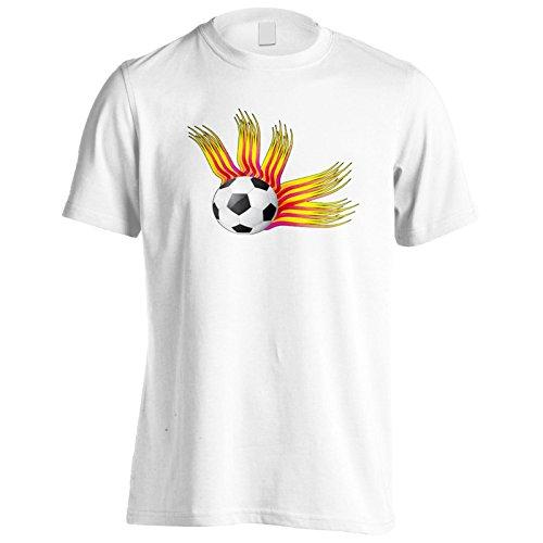 Neue Abstrakte Retro-Stil Fußball Herren T-Shirt l948m
